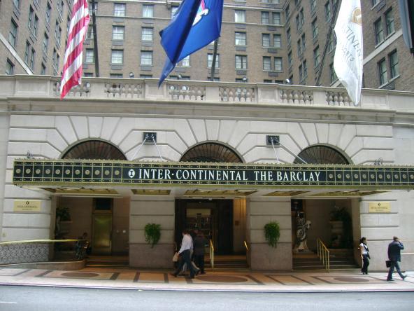 Intercontinental, The Barclay, New York